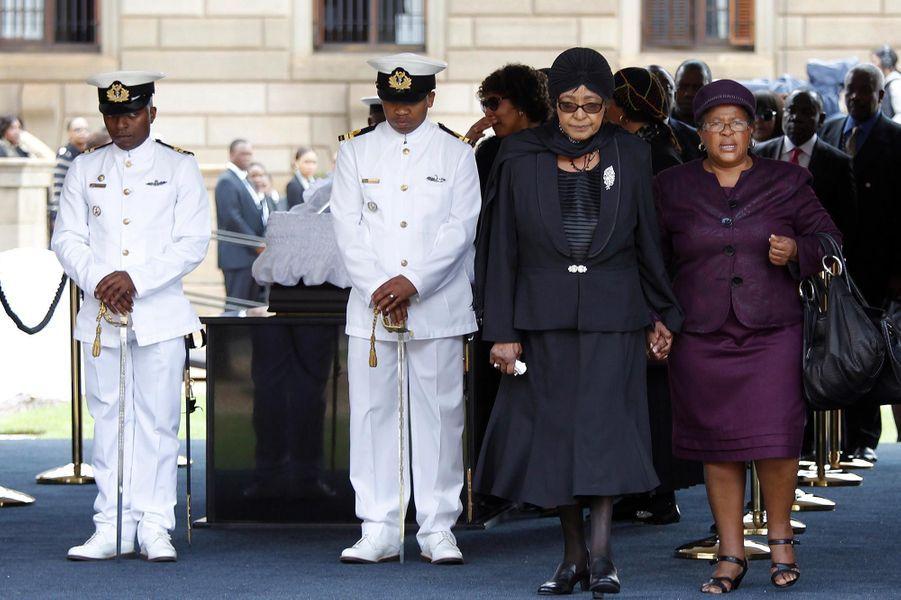 Winnie Mandela, en décembre 2013.