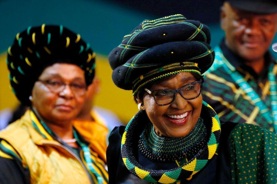 Winnie Mandela, en décembre 2017.