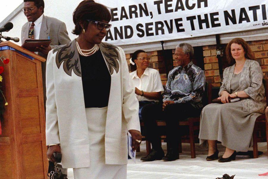 Winnie Mandela, en février 1997.