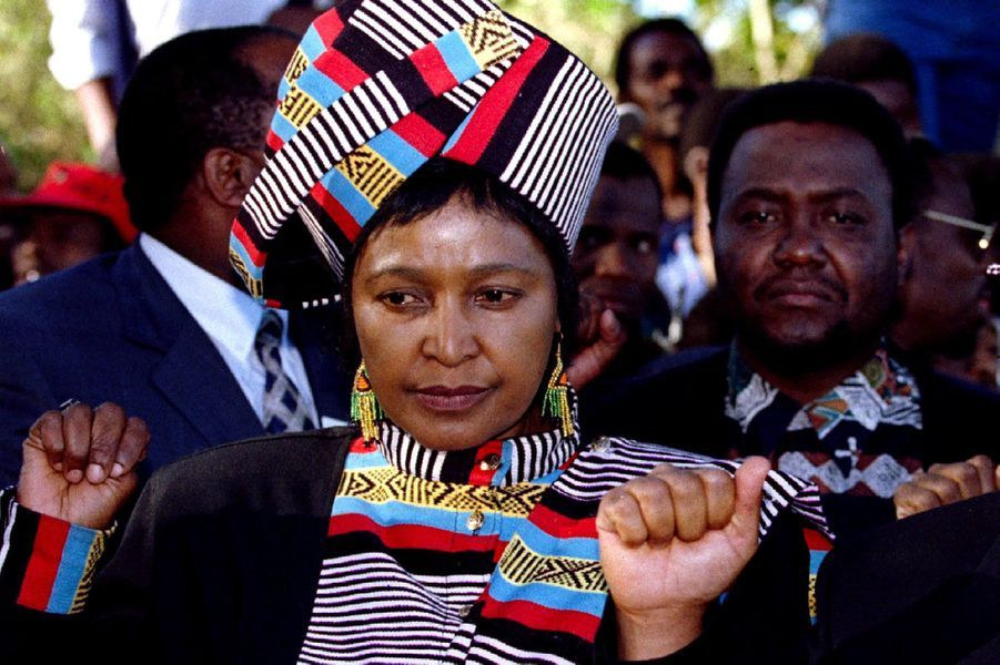 Winnie Mandela, en juillet 1995.
