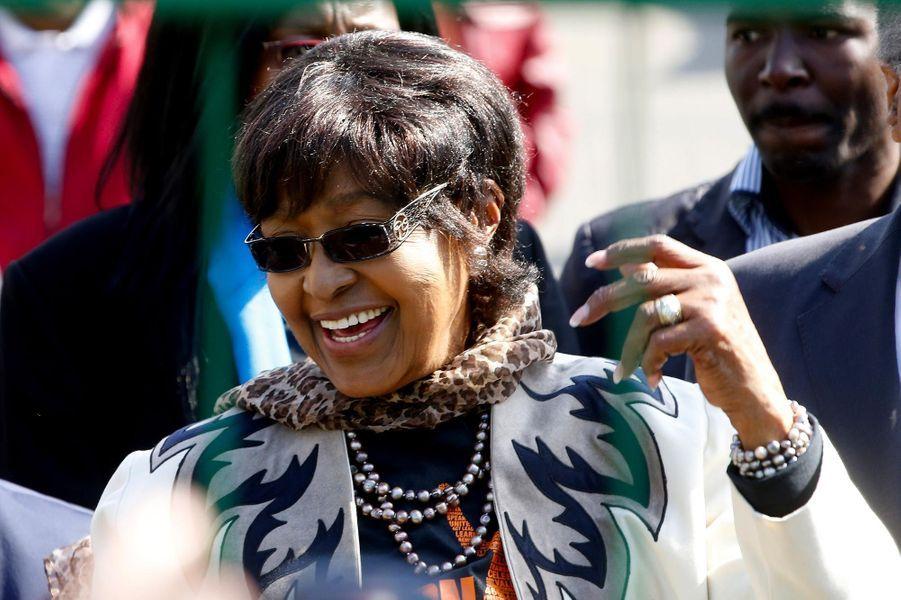 Winnie Mandela, en juillet 2013.