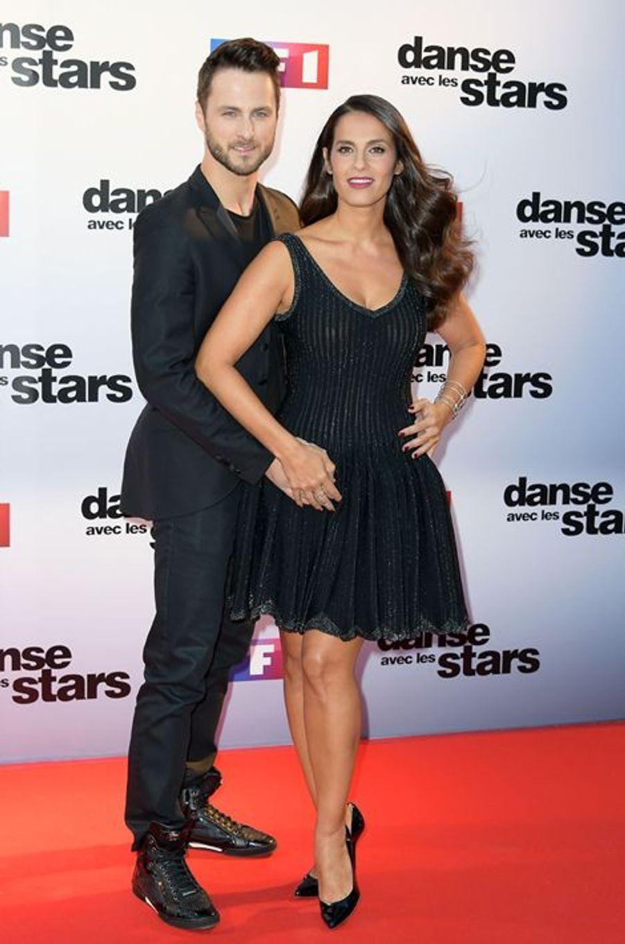 Danse avec les stars 5 : la chanteuse Elisa Tovati et son partenaire Christian Millette.