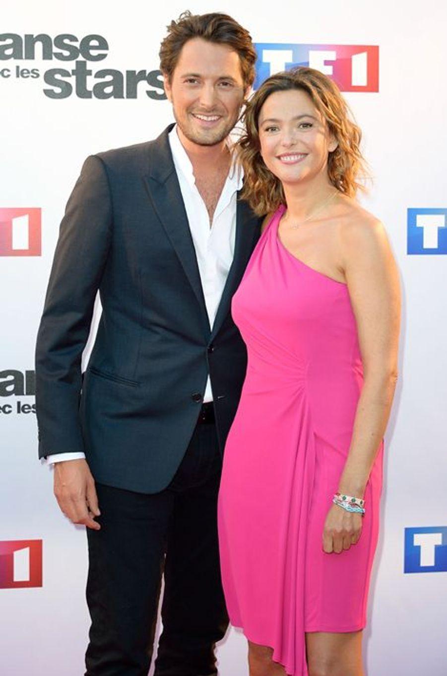 Danse avec les stars 5 : les présentateurs Vincent Cerutti et Sandrine Quétier
