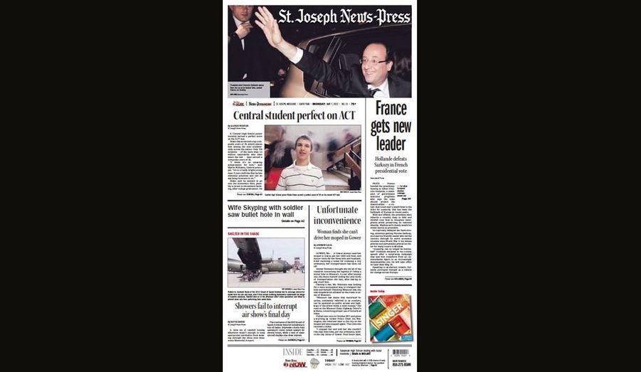 La France a un nouveau leader pour le St. Joseph News-Press (Etats-Unis)