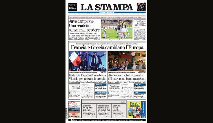 La France et la Grèce changent l'Europe pour La Stampa (Italie)