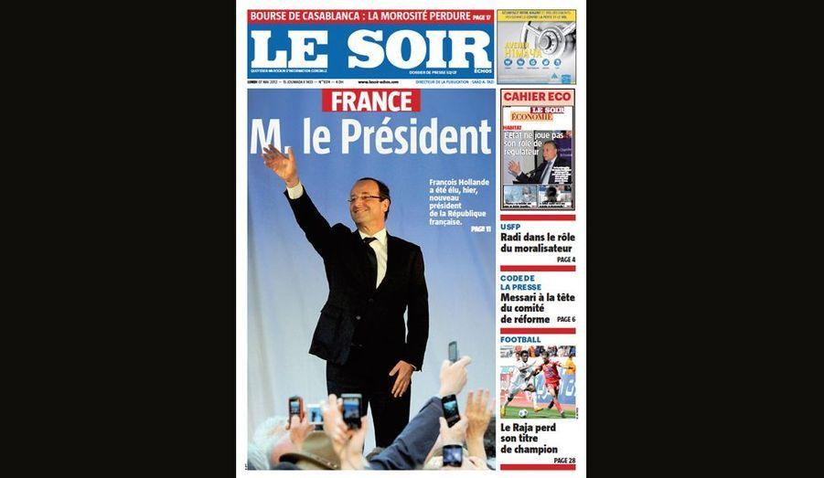 M. Le président pour Le Soir (Maroc)