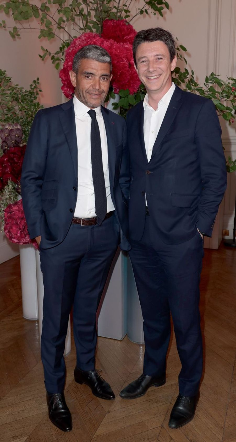 Ramzi Khiroun et Benjamin Griveaux.
