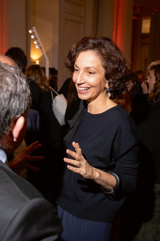 Audrey Azoulay, directrice générale de l'Unesco.