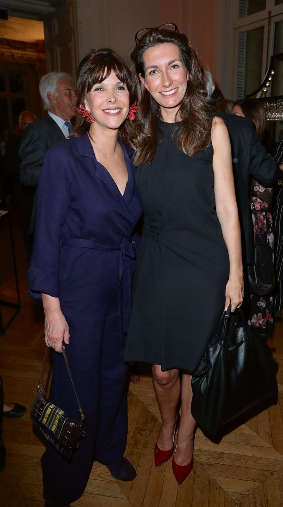 Tina Kieffer et Anne-Claire Coudray.