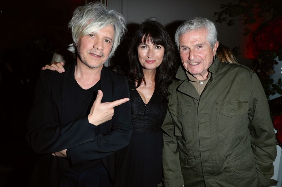 Nicola Sirkis, d'Indochine, Valérie Perrin et Claude Lelouch.