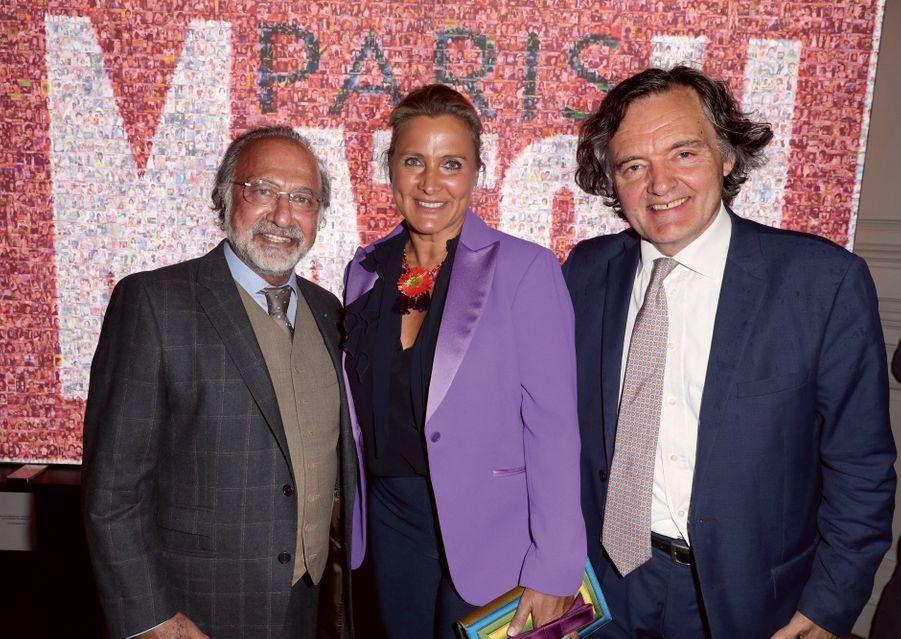 Olivier Dassault, Natacha Nikolajevic et Pierre-Emmanuel Taittinger.