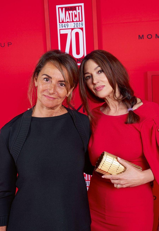 Constance Benqué et Monica Bellucci.