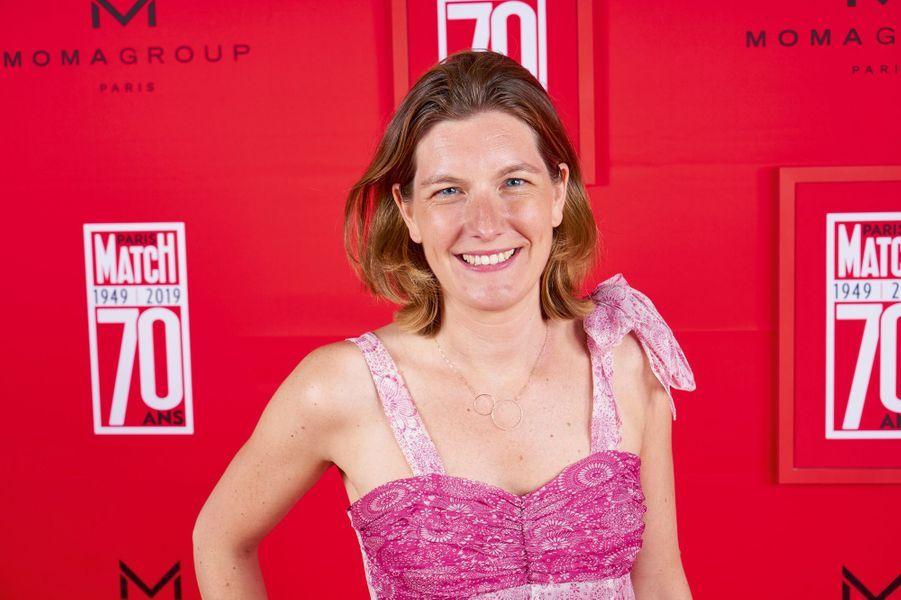 Anne-Violette Revel de Lambert, directrice générale adjointe de Lagardère News.