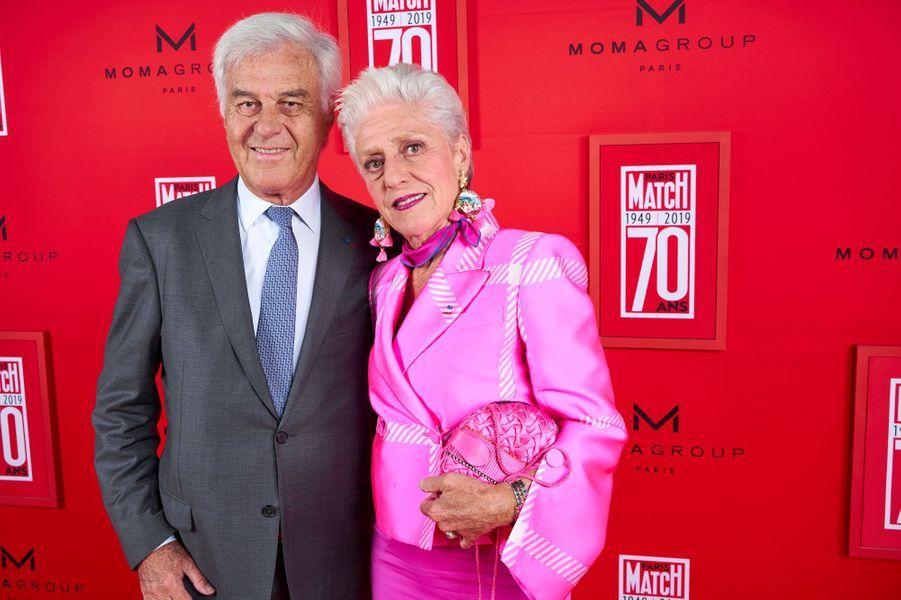 Catherine Euvrard et son mari.