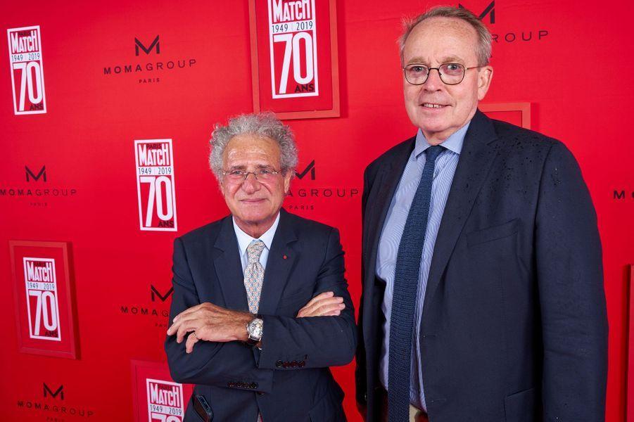 Laurent Dassault, Renaud Donnedieu de Vabres.