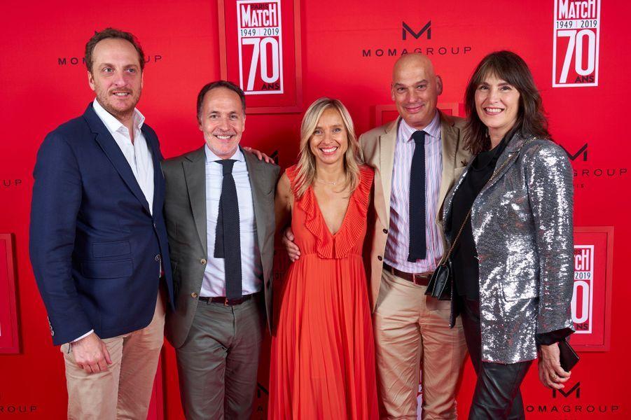 Charles Bletry (Swatch), Arnaud Blandin (Blancpain), Fabienne Blot (Lagardère Publicité News), Frédéric Bondoux (Longines France).