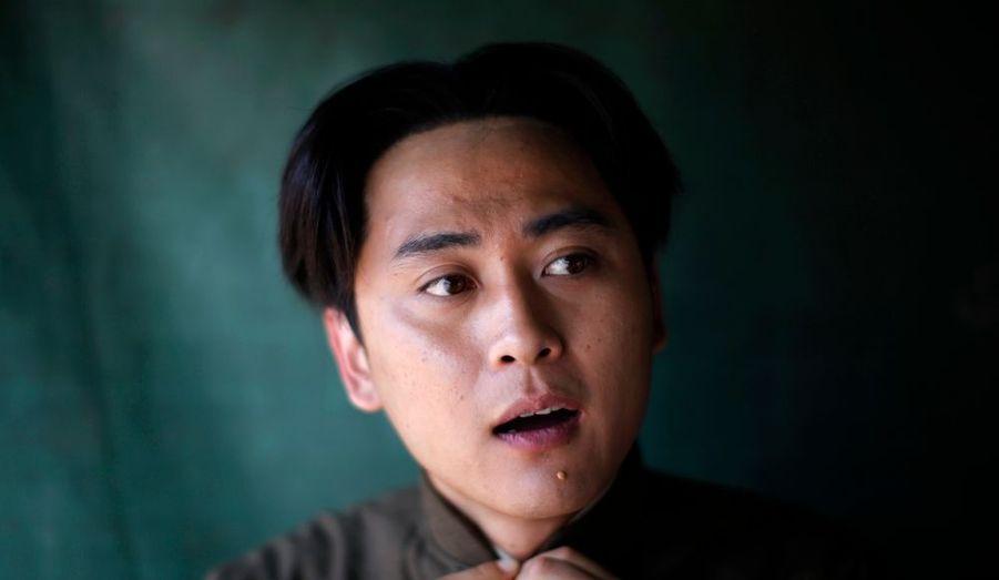 L'acteur Wang Pengkai a été choisi pour sa ressemblance avec le Grand Timonier.