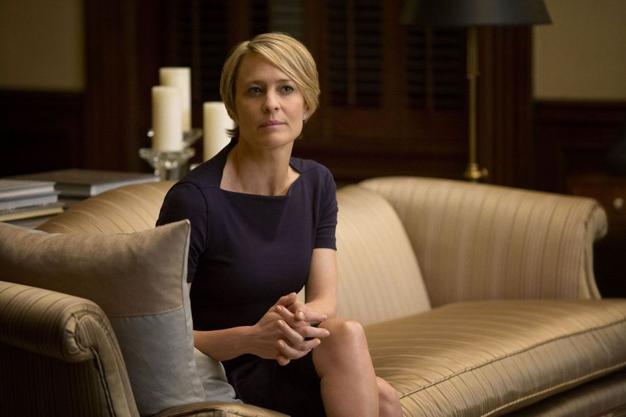 Claire Underwood (Robin Wright) dans 'House of Cards'
