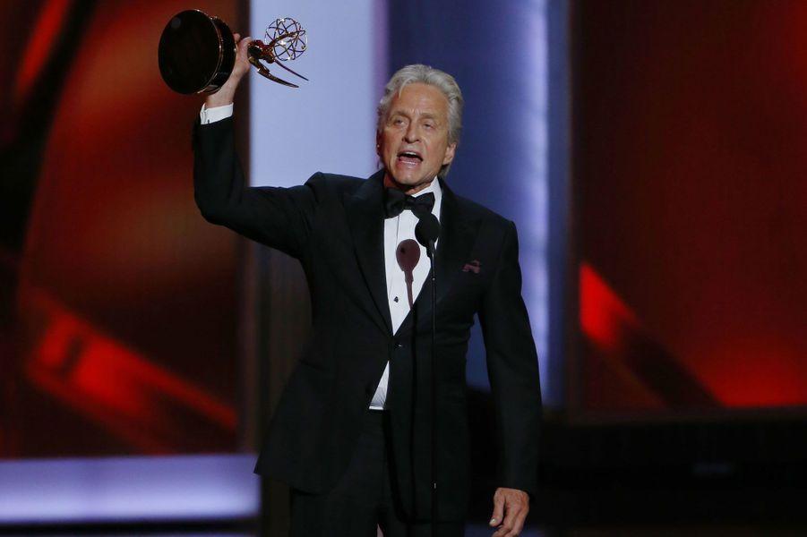 Dans «Ma Vie avec Liberace», il a signé un retour flamboyant, salué par la critique et récompensé d'un Emmy. Après sa maladie, Michael Douglas est revenu plus fort que jamais.Notre rencontre avec Michael Douglas