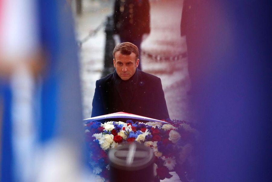 11 novembre : Macron Inaugure Un Monument Aux Soldats Morts En Opérations Extérieures 11