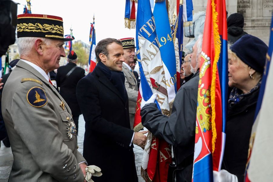 11 novembre : Macron Inaugure Un Monument Aux Soldats Morts En Opérations Extérieures 13