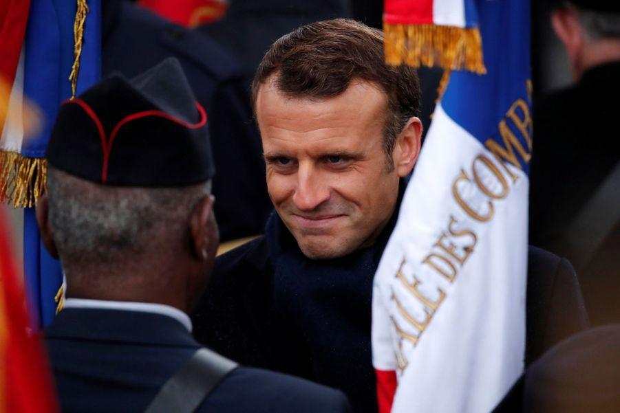 11 novembre : Macron Inaugure Un Monument Aux Soldats Morts En Opérations Extérieures 15