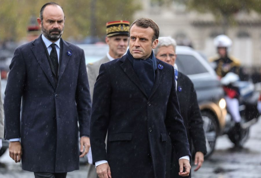11 novembre : Macron Inaugure Un Monument Aux Soldats Morts En Opérations Extérieures 16