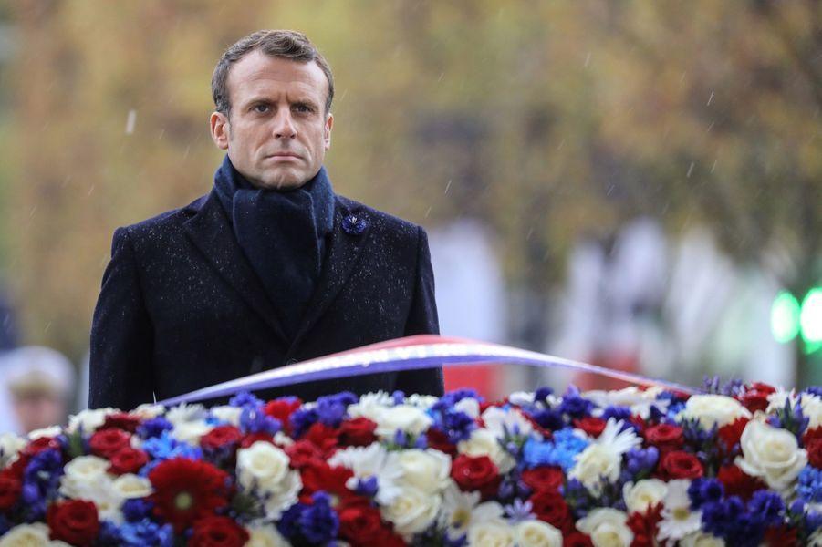 11 novembre : Macron Inaugure Un Monument Aux Soldats Morts En Opérations Extérieures 18