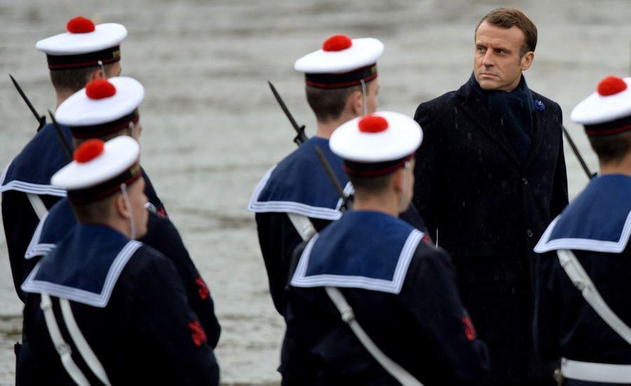 11 novembre : Macron Inaugure Un Monument Aux Soldats Morts En Opérations Extérieures 2