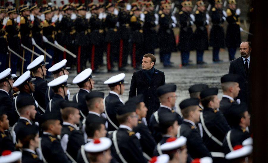 11 novembre : Macron Inaugure Un Monument Aux Soldats Morts En Opérations Extérieures 3