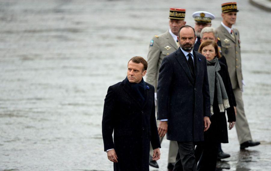 11 novembre : Macron Inaugure Un Monument Aux Soldats Morts En Opérations Extérieures 4