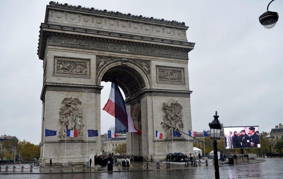 11 novembre : Macron Inaugure Un Monument Aux Soldats Morts En Opérations Extérieures 5