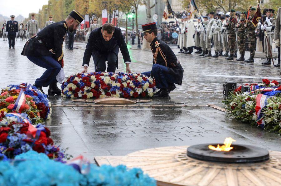 11 novembre : Macron Inaugure Un Monument Aux Soldats Morts En Opérations Extérieures 6