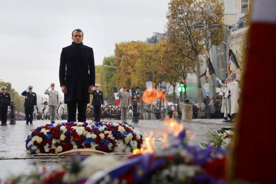 11 novembre : Macron Inaugure Un Monument Aux Soldats Morts En Opérations Extérieures 7