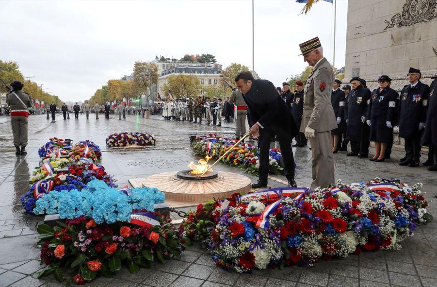 11 novembre : Macron Inaugure Un Monument Aux Soldats Morts En Opérations Extérieures 8