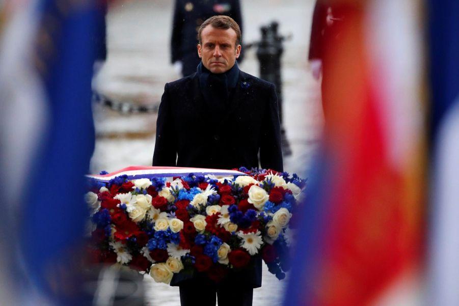 11 novembre : Macron Inaugure Un Monument Aux Soldats Morts En Opérations Extérieures 9
