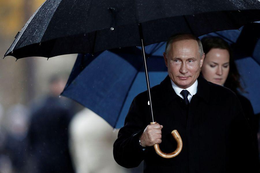 Arrivée de Vladimir Poutine.