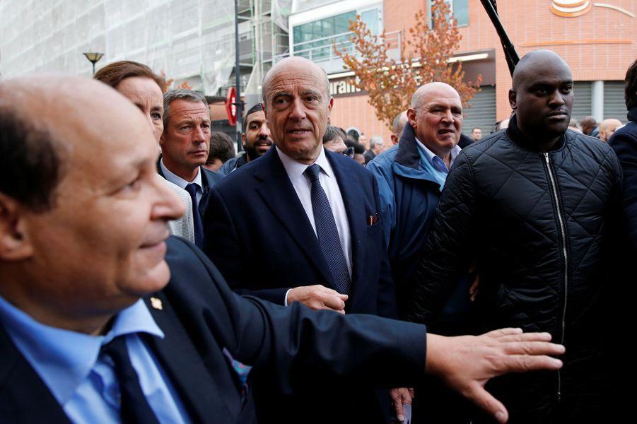Visite d'Alain Juppé à Argenteuil, le 2 novembre 2016.