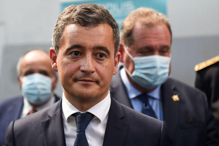Gérald Darmanin à Bayonne, le 11 juillet 2020.
