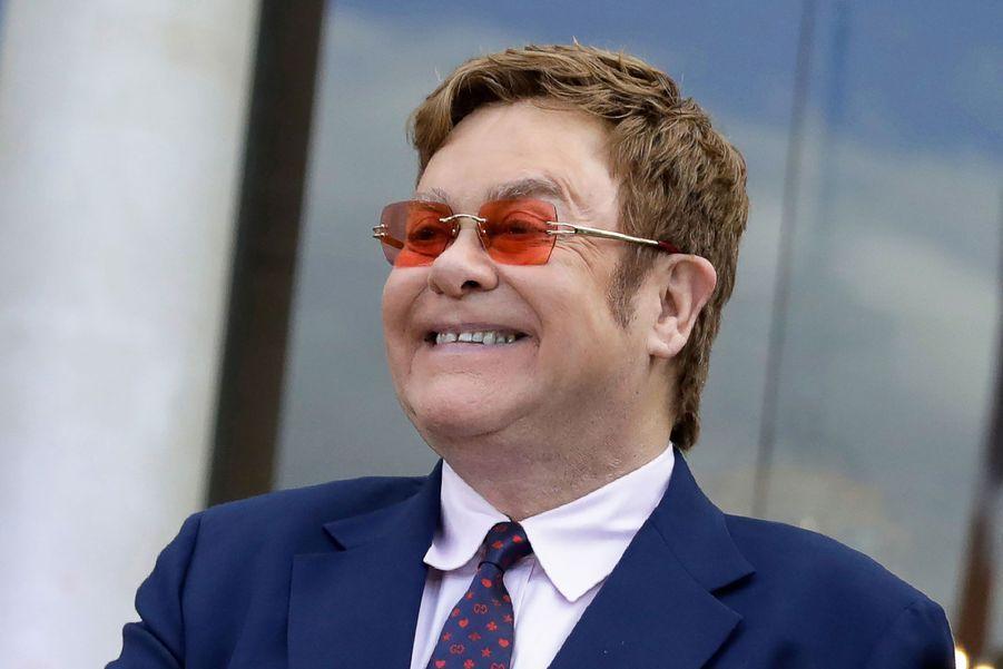 Elton John à l'Elysée vendredi