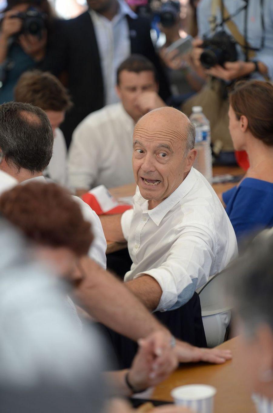 Alain Juppé à l'université des Républicains à La Baule, le 3 septembre 2016.