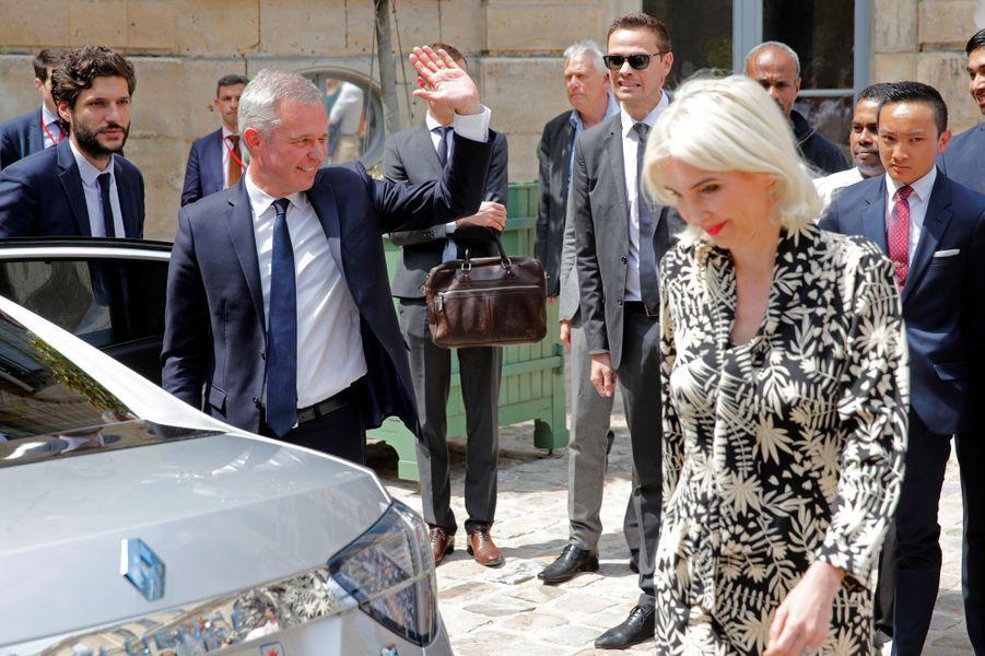 François de Rugy et son épouse quitte le ministère de la Transition écologique.