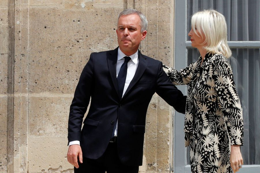 François de Rugy et son épouse.