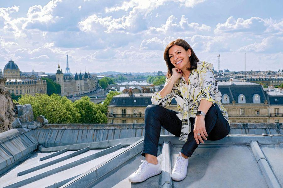 Elle a la réputation de monter dans les tours… Mais, le 31 mai, elle grimpe pour la première fois sur le toit de l'Hôtel de Ville.