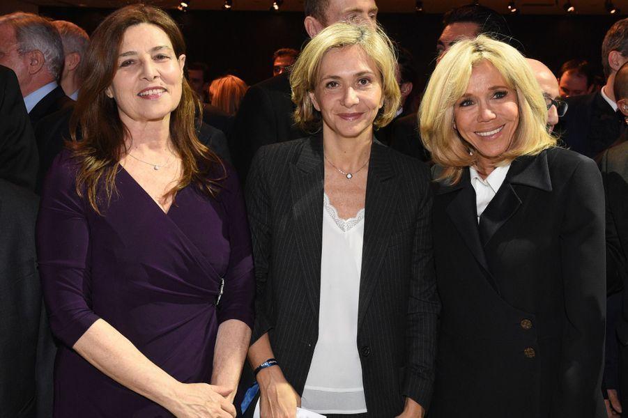 Aliza Bin Noun, Valérie Pécresse, aux côtés de Brigitte Macron.