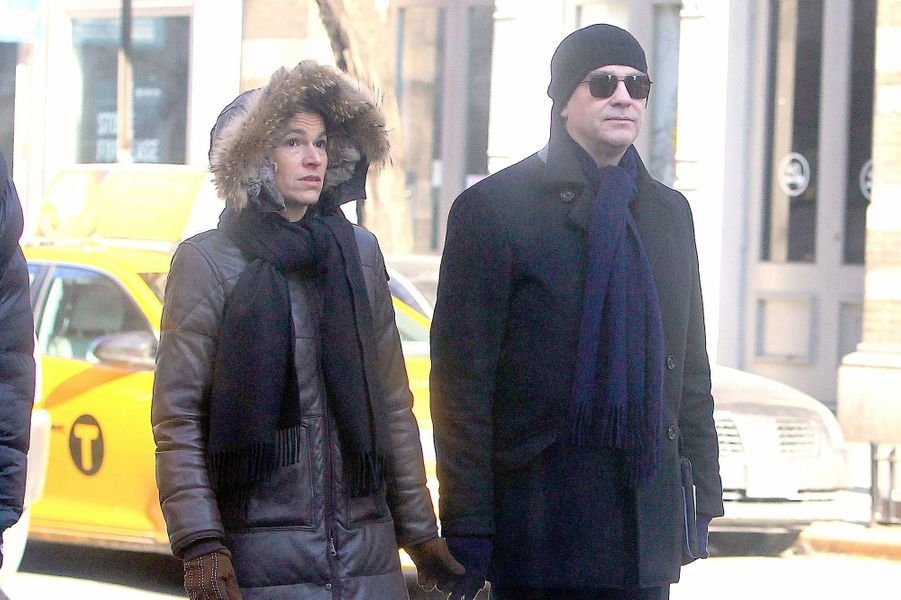 Le couple à New York en février 2015.