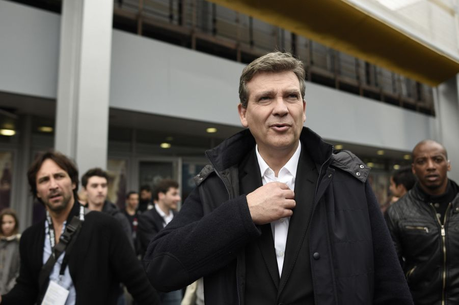 Arnaud Montebourg à la Paris Games Week, le 28 octobre 2016.