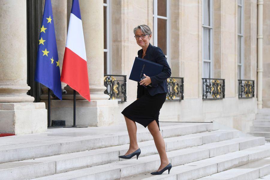 Elisabeth Borne, ministres des Transports.