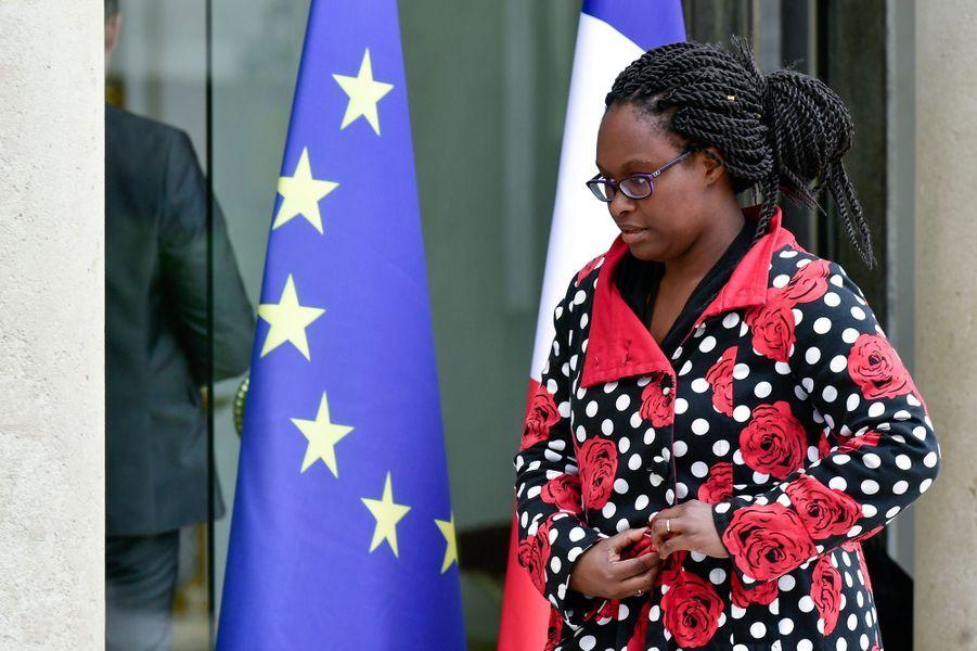 Sibeth Ndiaye, conseillère presse d'Emmanuel Macron.