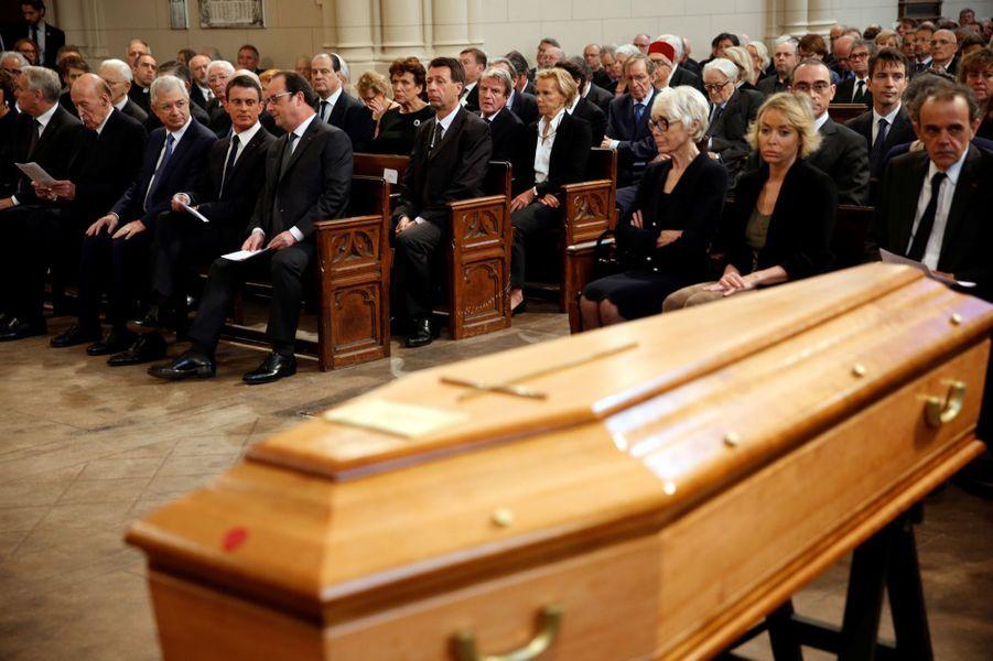 Hommage à Michel Rocard, à Paris.